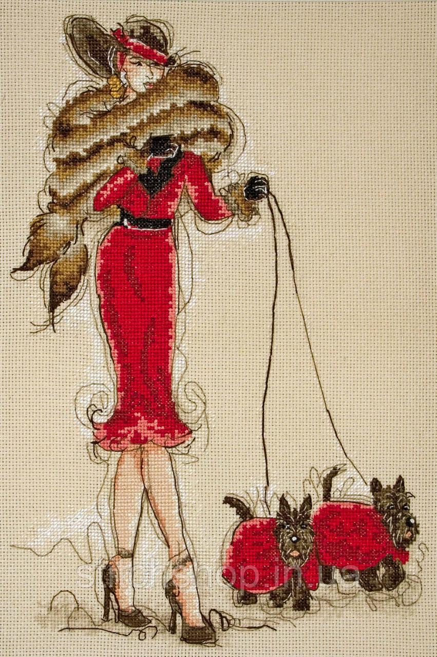 5678000-01032 Great Scotts II (Великолепные шотландцы 2). Anchor Maia Collection. Набор для вышивания нитками