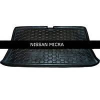 Коврик в багажник Avto Gumm для Nissan Micra (K12) 2002-2010