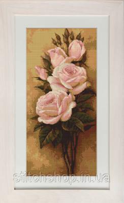 G453 Розы. Luca-S. Набор для вышивания нитками