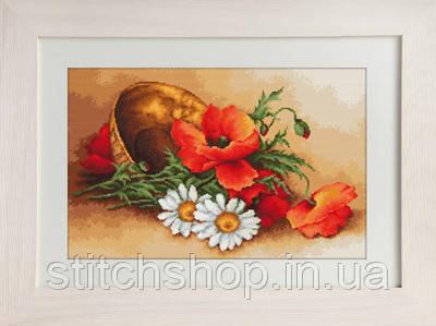 G500 Полевые цветы. Luca-S. Набор для вышивания нитками