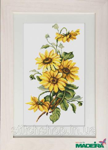 BM3003 Жовті квіти. Luca-S. Набір для вишивання нитками