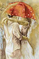 G552 Под зонтом. Luca-S. Набор для вышивания нитками