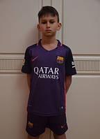 Детская футбольная форма команды Барселона