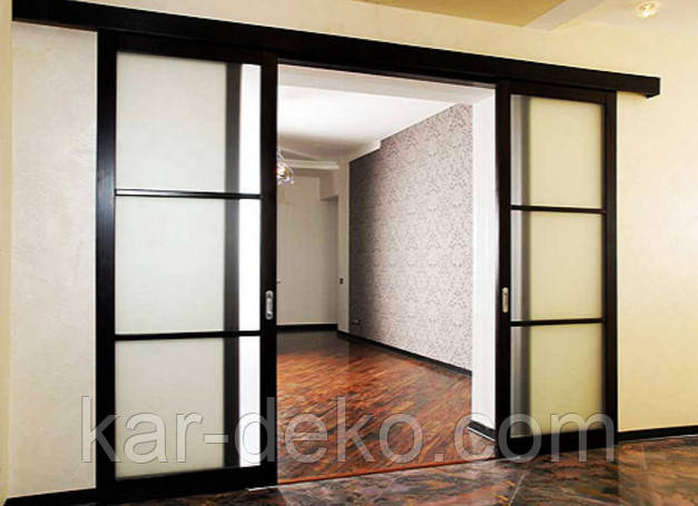 фото раздвижные системы на двери kar-deko.com