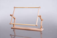 Настольный станок для вышивания Пеликан с гобеленовыми пяльцами 30х56 см. Арабеска.