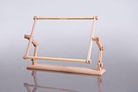 Настольный станок для вышивания Пеликан с гобеленовыми пяльцами 40х56 см. Арабеска.