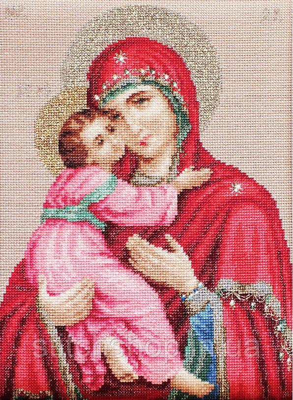 BR112 Владимирская Икона. Luca-S. Набор для вышивания нитками