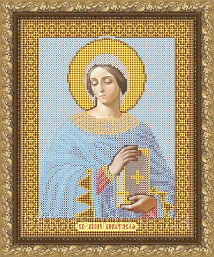 VIA4021 Святая Великомученица Анастасия. ArtSolo. Схема на ткани для вышивания бисером