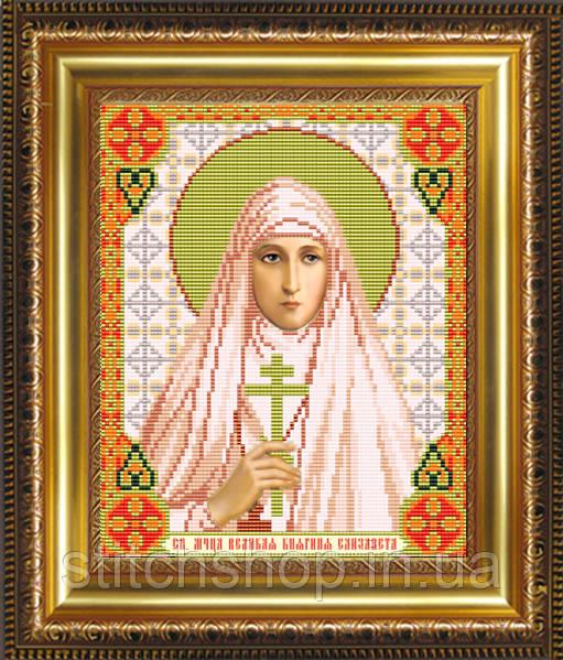 VIA4052 Св.Мученица Великая Княгиня Елизавета. ArtSolo. Схема на ткани для вышивания бисером