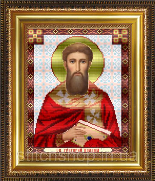 VIA4057 Св.Григорий Палама. ArtSolo. Схема на ткани для вышивания бисером