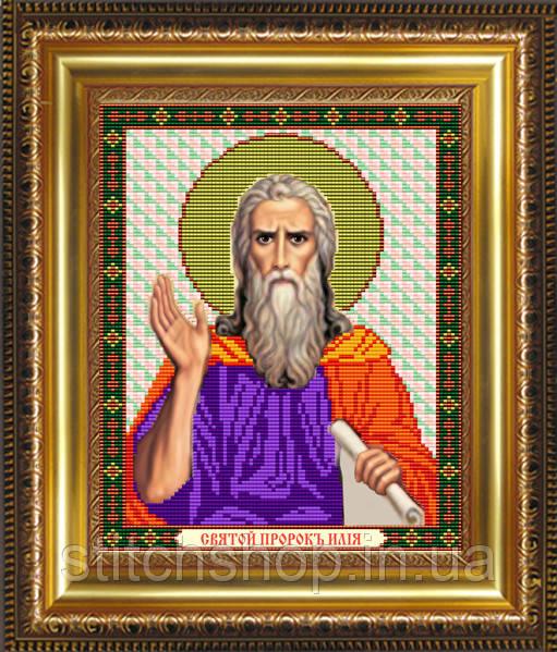 VIA4071 Святой Пророк Илия. ArtSolo. Схема на ткани для вышивания бисером