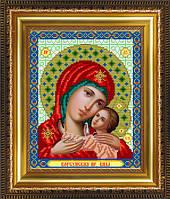 VIA4210 Пресвятая Богородица Корсунская. ArtSolo. Схема на ткани для вышивания бисером