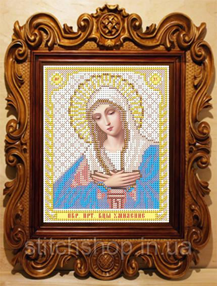 """VIA5007 Божия Матерь """"Умиление"""". ArtSolo. Схема на ткани для вышивания бисером"""