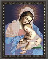 VKA3007 Мадонна с младенцем. ArtSolo. Схема на ткани для вышивания бисером