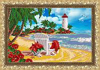 VKA3032 Райский уголок. ArtSolo. Схема на ткани для вышивания бисером