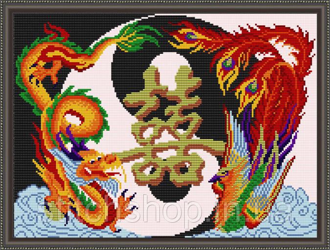VKA3041 Семейное счастье. ArtSolo. Схема на ткани для вышивания бисером