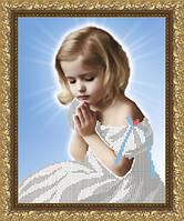 VKA4006 Молитва. ArtSolo. Схема на ткани для вышивания бисером