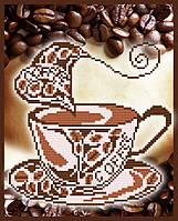 VKA4010 Ароматный кофе. ArtSolo. Схема на ткани для вышивания бисером