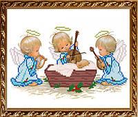 VKA4016А С Рождением мальчика. ArtSolo. Схема на ткани для вышивания бисером