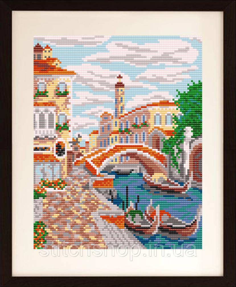 VKA4018 Венеция. ArtSolo. Схема на ткани для вышивания бисером