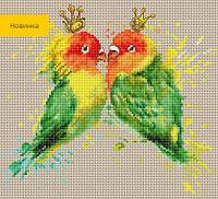 B2309 Папугаи. Luca-S. Набор для вышивания нитками