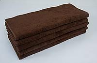 Полотенце махровое Lotus 50*90 темно-коричневое