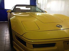 Изготовление и установка стекла на Chevrolet Corvette.  9