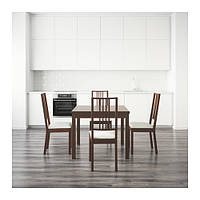 Стол BJURSTA / BÖRJE 4 стула IKEA