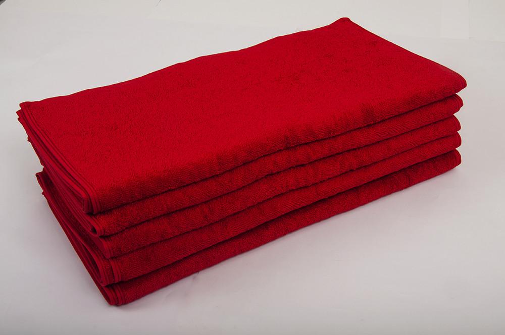 Полотенце махровое Lotus 50*90 красное
