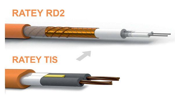 Преимущества кабеля Ratey RD2 относительно двужильного Ratey TIS