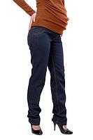 Теплые джинсы на флисе для будущих мам