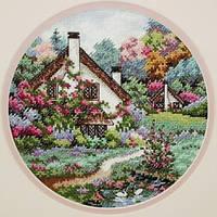 4373 Домик в саду. Classic Desing. Набор для вышивания нитками