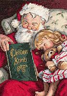 4378 Рождественские истории. Classic Desing. Набор для вышивания нитками
