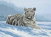 """01011  """"Сибирский тигр (Siberian Tiger)"""" ANCHOR MAIA. Набор для вышивания нитками"""