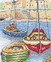 """AK127  """"Гавань (The Harbour)"""" ANCHOR. Набор для вышивания нитками"""