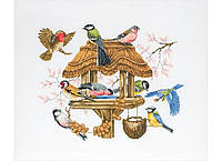 "APC942  ""Кормушка для птиц (Bird Table)"" ANCHOR. Набор для вышивания нитками"