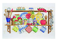 "PCE757  ""Кухонная полка (The kitchen shelf)"" ANCHOR. Набор для вышивания нитками"