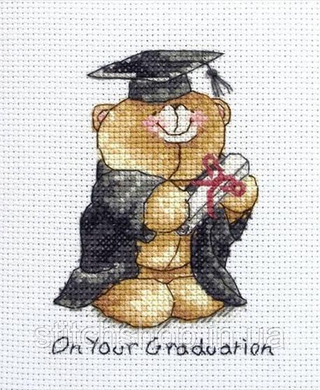 """FRC219  """"Выпускной (Graduation)"""" ANCHOR. Набор для вышивания нитками"""