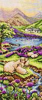 """PCE0816  """"Высокогорье (Highlands Landscape)"""" ANCHOR. Набор для вышивания нитками"""