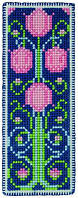 "PCE5013  ""Закладка Арт нуво тюльпан (Art Nouveau Tulip Bookmark)"" ANCHOR. Набор для вышивания нитками"