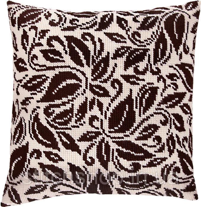 V-112 Версаль. Подушка. Чарівниця. Набор для вышивания нитками на канве с нанесенным рисунком