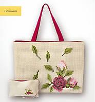 BAG002 Роза. Luca-S. Набор для вышивания нитками