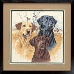 """35096 """"Великолепные охотники//Great Hunting Dogs"""". DIMENSIONS. Набор для вышивания нитками"""