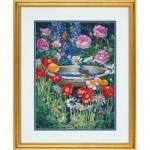 """70-35288 """"Волшебный сад//Garden Reflections"""". DIMENSIONS. Набор для вышивания нитками"""