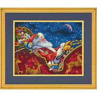 "70-08934 ""Ночная Поездка Санты//Santa's Midnight Ride"". DIMENSIONS."
