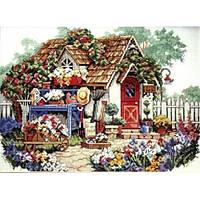 4322 Садовый домик. Classic Design. Набор для вышивания нитками