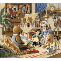 4323 Кукольный домик. Classic Design. Набор для вышивания нитками
