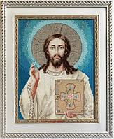 BR117 Иисус Христос. Luca-S. Набор для вышивания нитками
