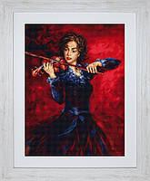 B533 Музыка. Luca-S. Набор для вышивания нитками