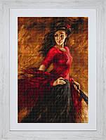B534 Танцовщица. Luca-S. Набор для вышивания нитками